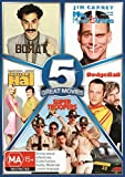 Outrageous Comedy 5-Pack [Borat + Me, Myself and Irene + Shallow Hal + DodgeBall + Super Troopers] [NON-USA Format / PAL / Region 4 Import - Australia]
