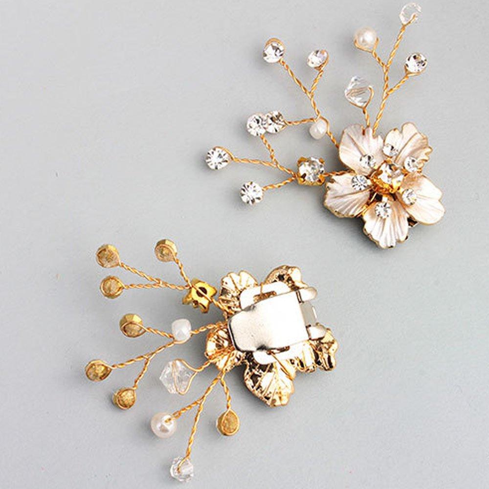 Blossom Flower damigelle abito da Gold scarpe Kercisbeauty sposa xq4IOX