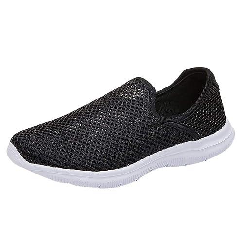 Saihui Sportschuhe Damen Sneaker Bequem Gym Leichte Schuhe