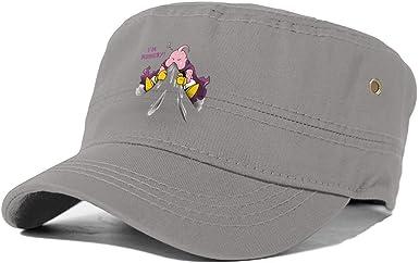 Gorra de béisbol de algodón con Texto en inglés Im Hungry Majin ...