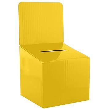amazon com mcb raffle ticket cardboard box 6x6x12 inches 5