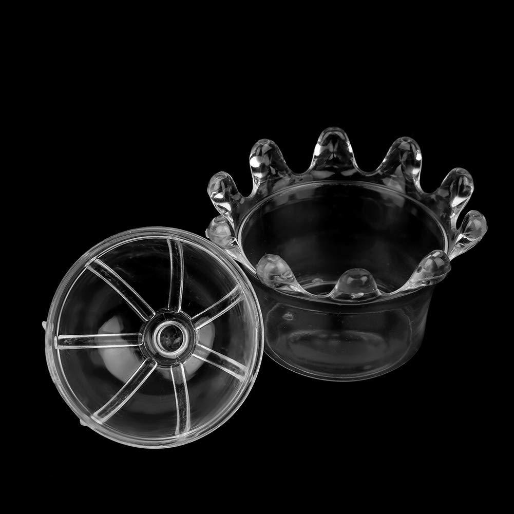 Simlug Scatole di bomboniera 12pcs Scatole di Caramelle a Forma di Corona Scatole di plastica Dolce Regalo Scatole di Compleanno per la Festa di Compleanno Scatole di Decorazione per la Doccia Blu