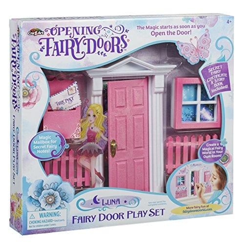 Opening Fairy Doors Pretend Playset