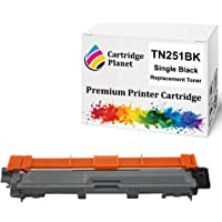 Cartridge Planet Black Compatible Toner Cartridge for Brother TN-251BK TN251BK (2,500 Pages) for DCP9015CDW HL3150CDN…
