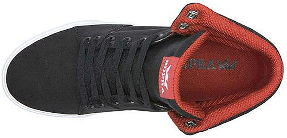 Supra Aluminum High Top Lace Up Sneaker Shoes