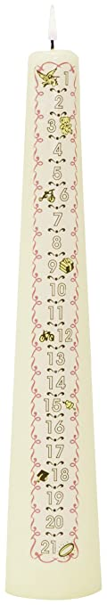 Celebration Candles Musical 1 21 Year Numbered Birthday Candle Yellow Discontinued By Manufacturer