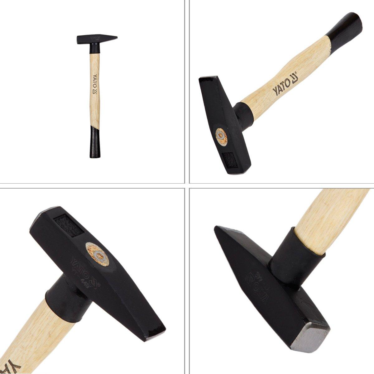 Schlosserhammer 300 g Ingenieurhammer DIN 1041