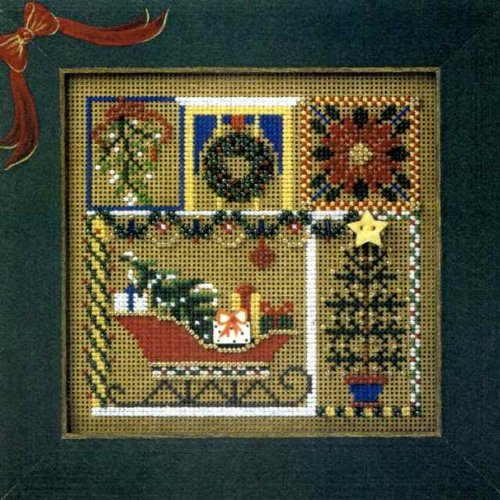 (Holiday Greetings - Cross Stitch Kit)
