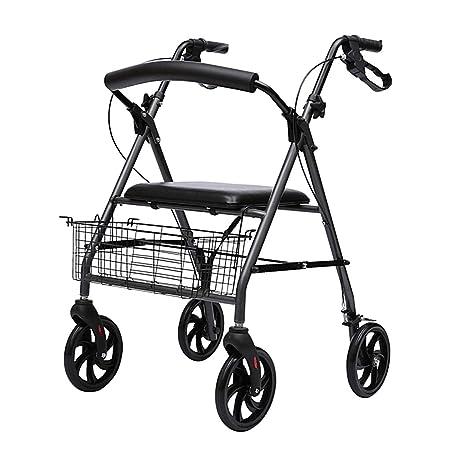 Walking frame YXX- Carro de la Compra Andador de Ancianos, con ...