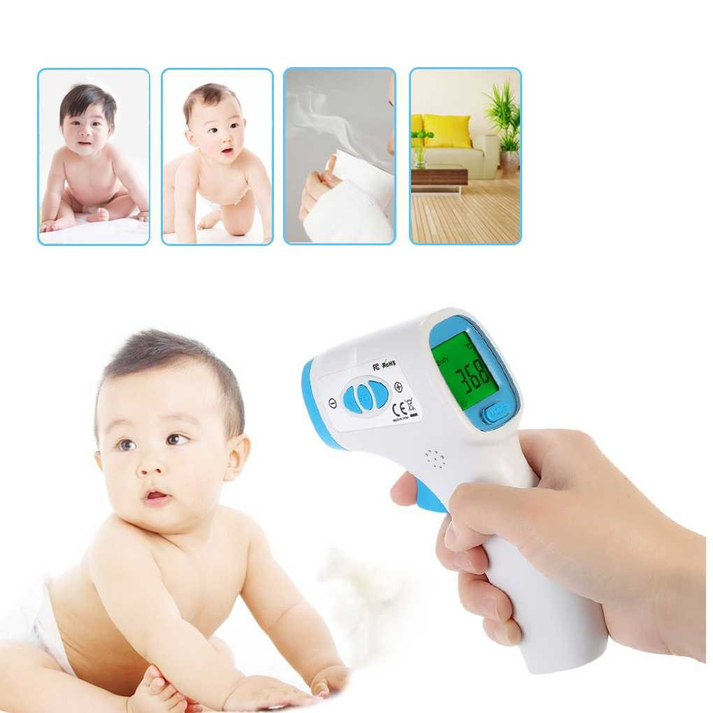 DT-8809C Digital LCD Non-contact IR Infrared Thermometer Baby Adult Forehead Body Surface Temperature Meter Regard