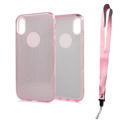 finest selection 34ed4 c374b iPhone X case, iZi Way Glitter Sparkle Bling Case for Girls Women ...