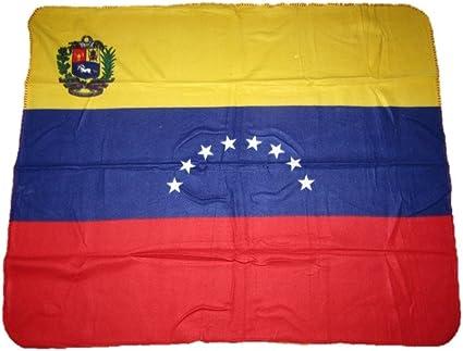 Bandera de Venezuela 8 Star 50 x 60 manta de forro polar: Amazon.es: Deportes y aire libre
