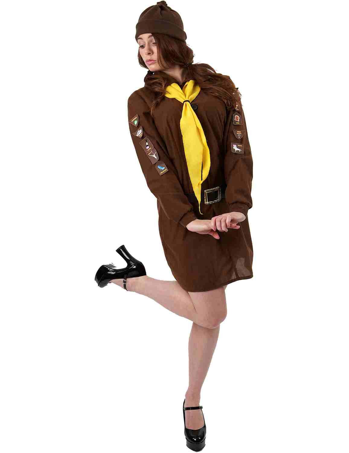 Adult Girl's Brownie Uniform Costume by Orion Costumes