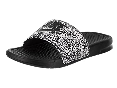 3028bebe7e3e6b NIKE Men s Benassi Just Do It. Print - White Black - 631261-100 - SZ. 5   Amazon.co.uk  Shoes   Bags