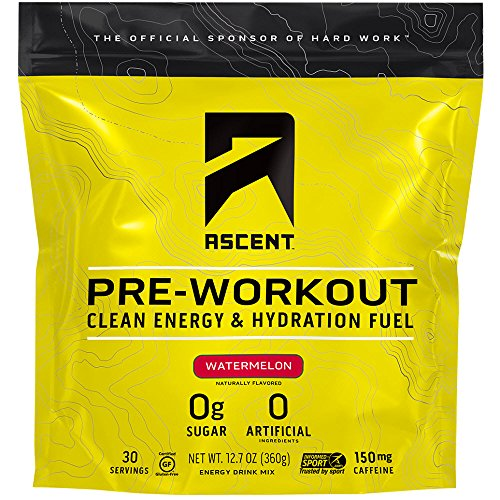Ascent Pre Workout – Watermelon – 30 Servings