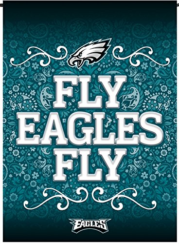 Philadelphia Eagles Rico Premium 2-sided GARDEN Flag Outdoor Banner Football