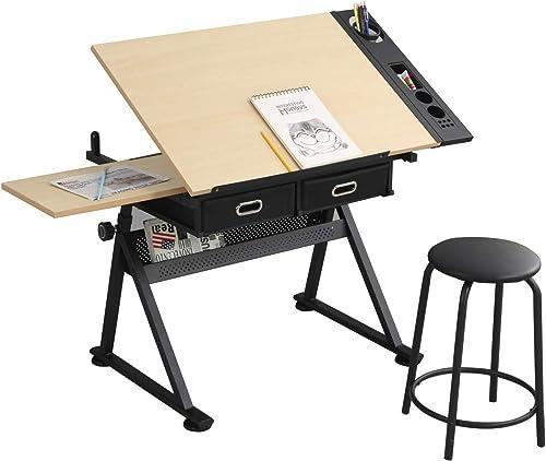 BeautyOL Adjustable Kid Study Desk,Drafting Table