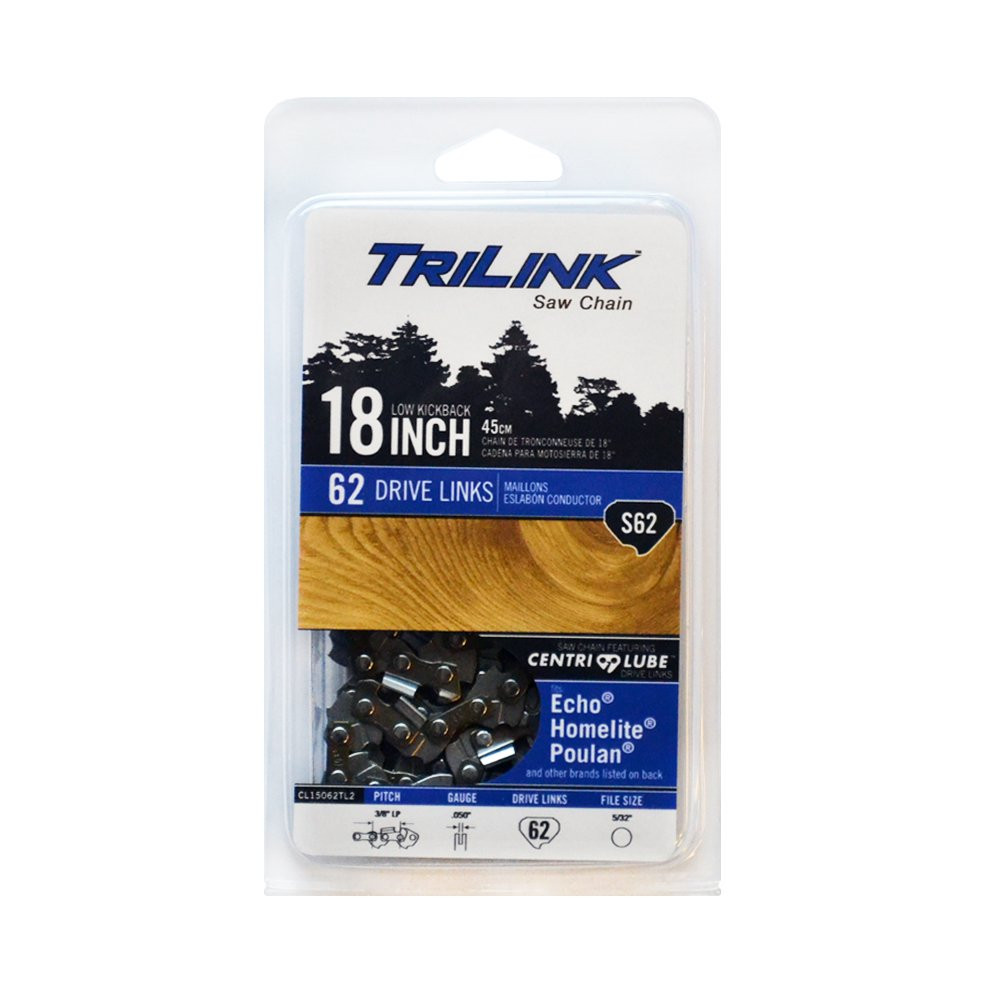 Trilink Saw Chain CL15062TL2 CP-5 S62 CL 18'' Chain by Trilink Saw Chain