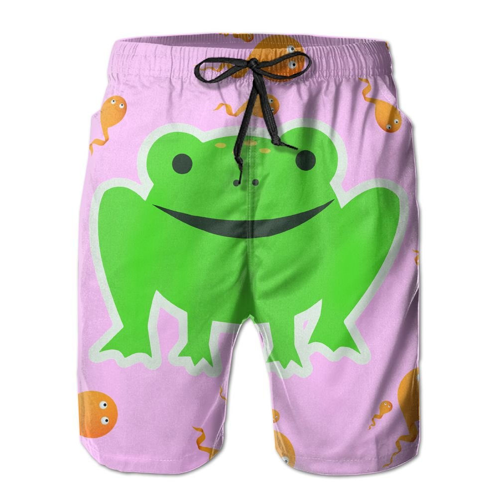 White Men Quick Dry Summer Swim Wear Frog Metamorphosis Metamorphosis Metamorphosis 51a540