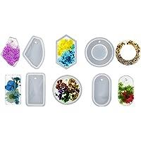 Molde de silicona para colgante más grande para decoración de coche, etiqueta de corazón, gema de corazón, molde de…