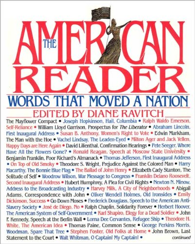 0060164808 - Diane Ravitch: The American Reader: Words That Moved a Nation - Buch