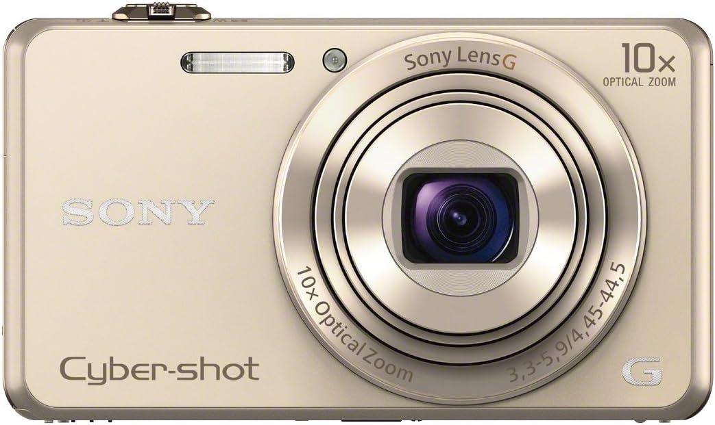 2,7 Zoll schwarz /& LCS-TWP//B Kameratasche f/ür DSC W//T-Serien schwarz 18 Megapixel, 10-Fach Opt. Zoom, 6,8 cm Sony DSC-WX220 Digitalkamera LCD-Display, NFC, WiFi