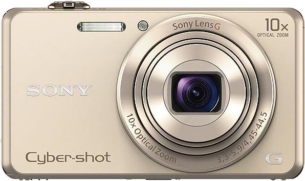 Sony Dsc Wx220 Digitalkamera 2 7 Zoll Gold Kamera