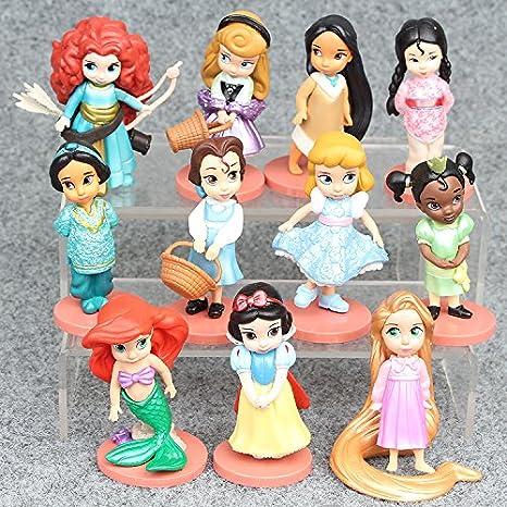 Amazon.com: Disney 11 piezas/set pvc cifras de acción, de ...