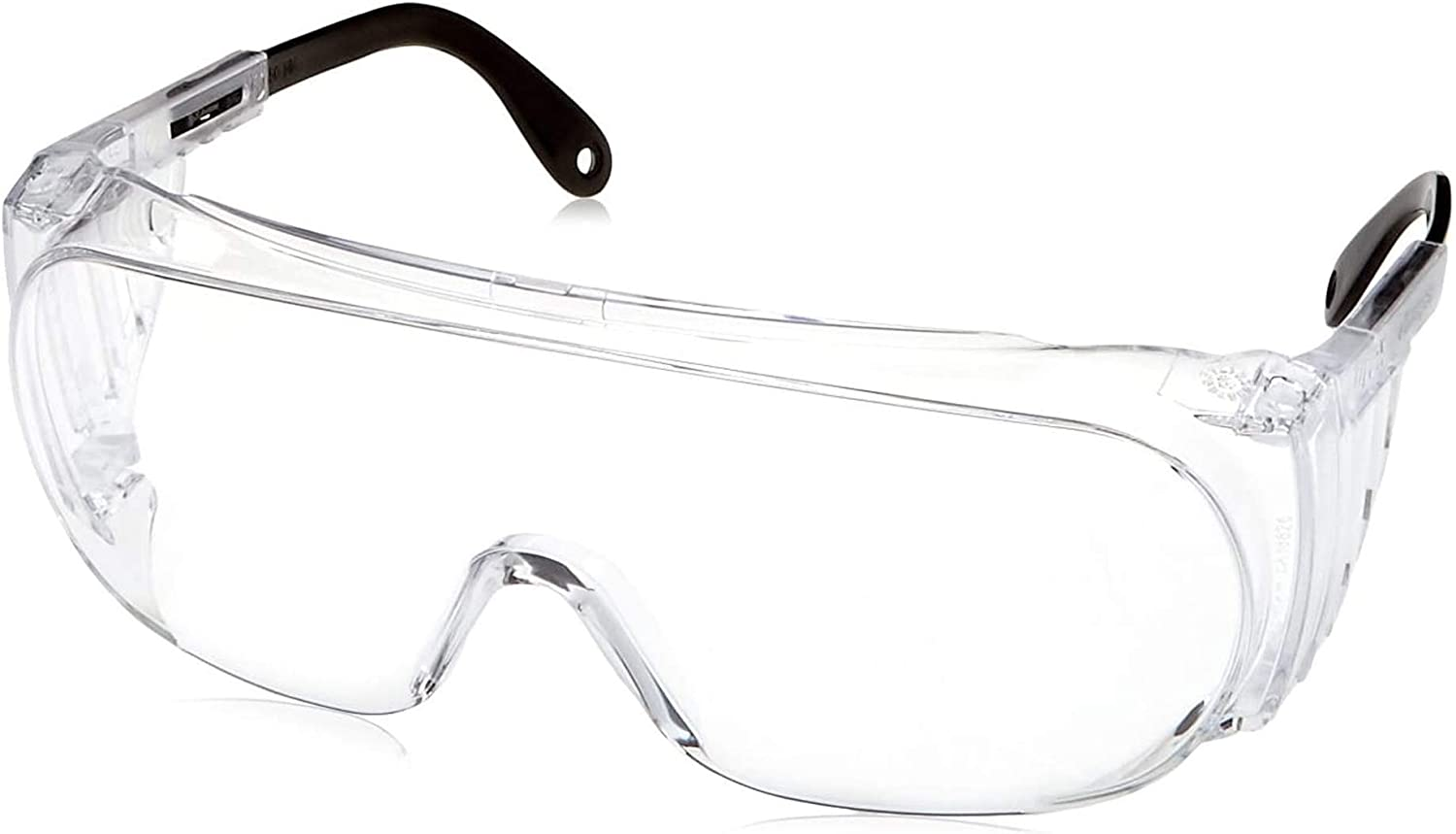 Uvex Ultra-Spec 2000 Visitor Specs Safety Glasses with Clear Ultra-Dura Anti-Scratch Lens (S0300)