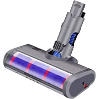 Soft Roller Motorized Head for Dyson V6 DC58 DC59 DC62 Vacuum Cleaner Brush with LED Light