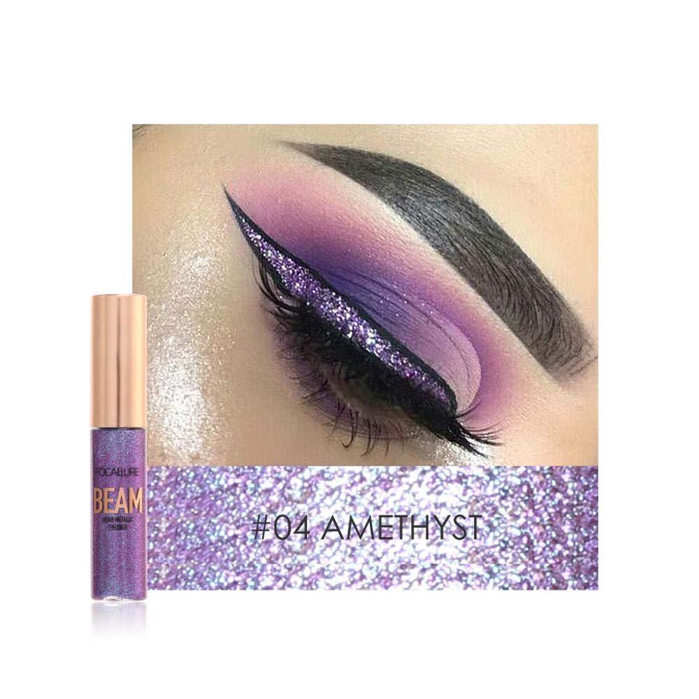 Shimmer Color Eye Liner Cosmetics Waterproof Pigments Pink Blue Gold Glitter Eyeliner Makeup