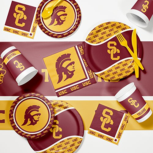 Kit Ncaa Party (NCAA University Southern California Game Day Party Supplies Kit)