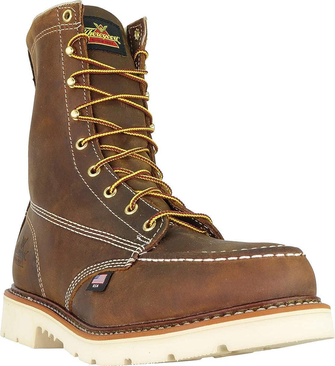 MAXWear 90 Safety Toe Boot Thorogood Mens American Heritage 8 Moc Toe
