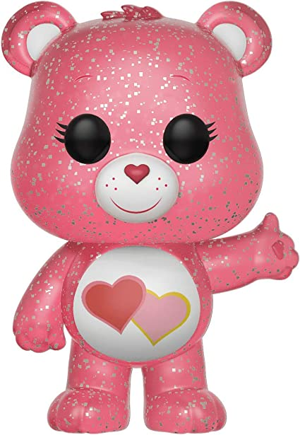 Funko Care Bears Glitter Love-a-Lot Bear Pop Vinyl Figure Translucent Exclusive