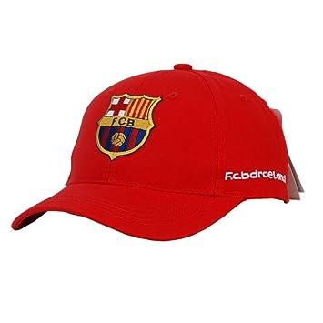 WEII Barcelona Club Hat Fútbol Fans Gorras Deportivas Sunhats Gorras de béisbol,Rojo,Un tamaño: Amazon.es: Deportes y aire libre