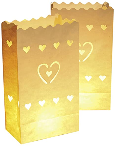 Wenko 8541100 Luminaria Herzen - Bolsas decorativas para ...