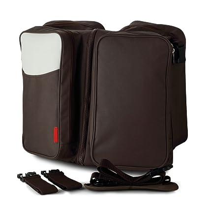 Pañal Bolso cambiador - Cama de multiusos bolsa de pañales portátil ...