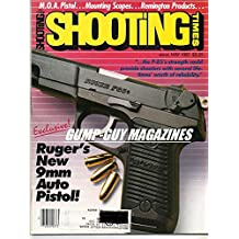 Shooting Times May 1987 Magazine RUGER'S NEW 9mm AUTO PISTOL: THE P-85'S STRENGTH COULD PROVIDE SHOOTERS WITH SEVERAL LIFETIMES WORTH OF RELIABILITY