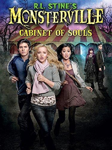 R L  Stines Monsterville  Cabinet Of Souls