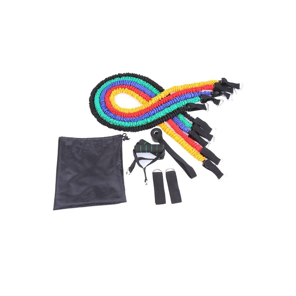 11 Set Mit Schutzband Zugseil Krafttraining