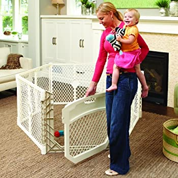North States Superyard Ultimate Play Yard, Ivory From North States 1