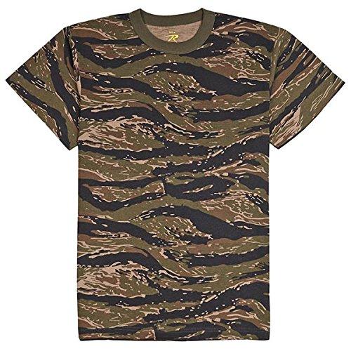 Rothco T-Shirt/Tiger Stripe, Large