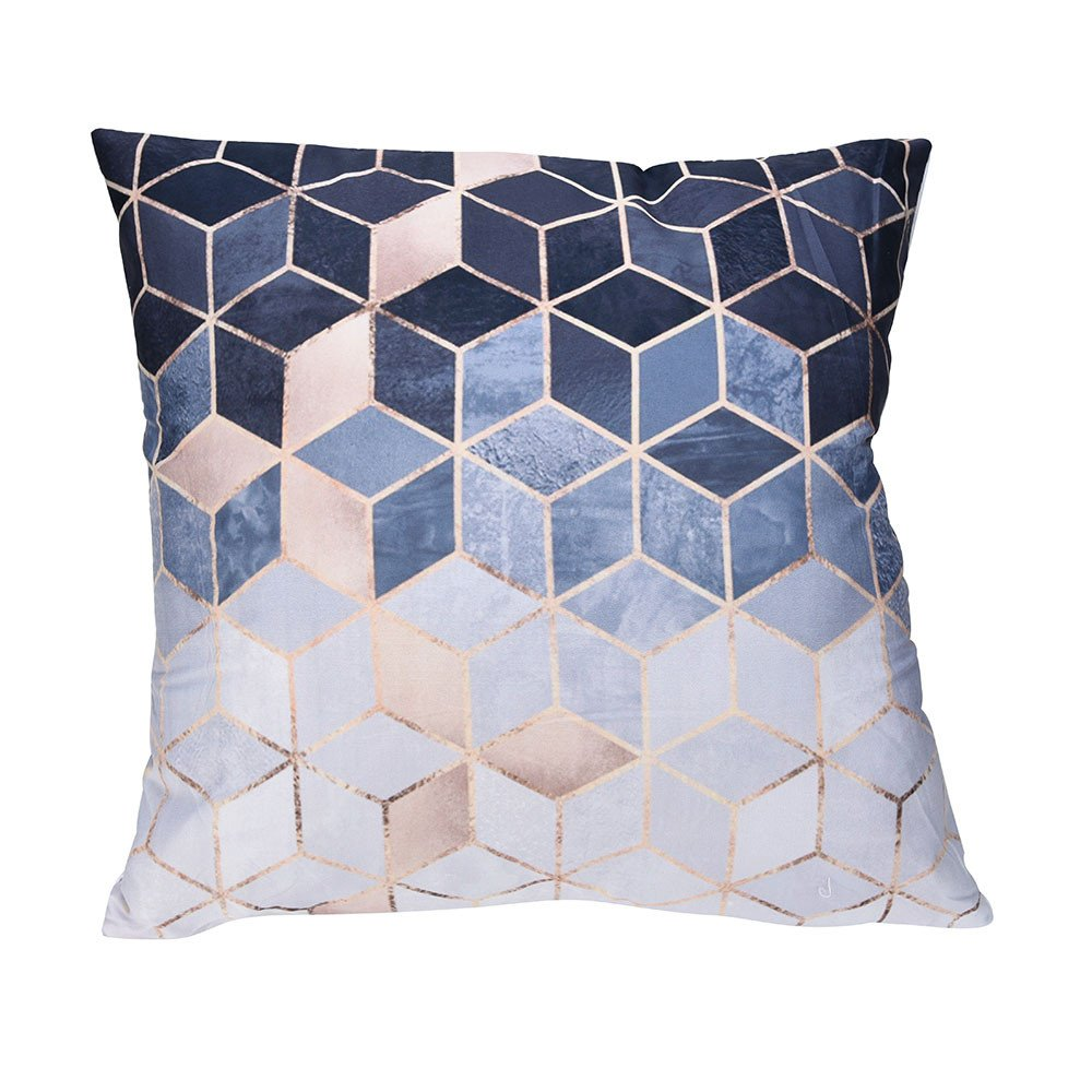 Throw Pillow Covers, E-Scenery Clearance Sale! Comfy Polyester Square Decorative Throw Pillow Cases Cushion Cover for Sofa Bedroom Car Home Decor, 18 x 18 Inch (A)