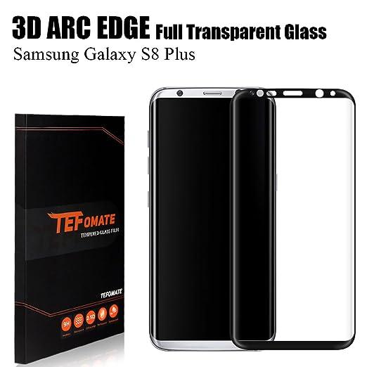 63 opinioni per Vetro Temperato Galaxy S8 Plus, TEFOMATE Pellicola Protettiva Vetro Temperato