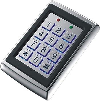 Keypad - Teclado con control de acceso a distancia con lector ...