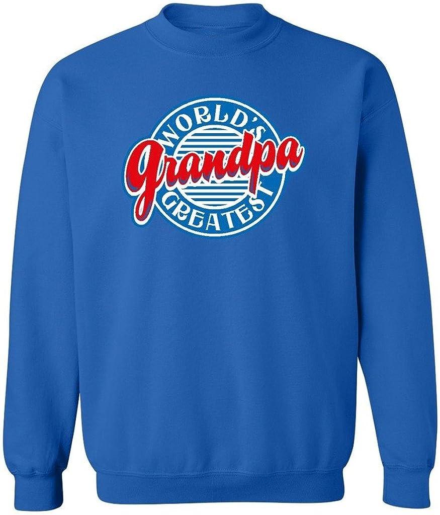 P/&B Worlds Greatest Grandpa Funny Crewneck Sweatshirt