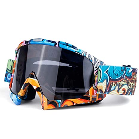 511f5750f2f Amazon.com   HOTLISTA Unisex Windshield Motorcycle Ski Goggles Windproof  Mountain Spectacles Winter Sports Accessories   Sports   Outdoors