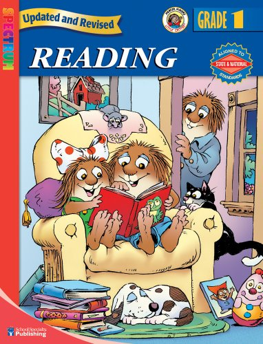 Spectrum Reading, Grade 1 (Little Critter Workbooks) Mercer Mayer