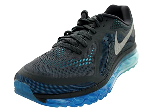 hot sale online a47c4 996ed Nike Air Max 2014 Mens Running Shoes 621077-004 AnthrctRflct SlvrPht  BlPlrz 12 D(M) US Buy Online at Low Prices in India - Amazon.in