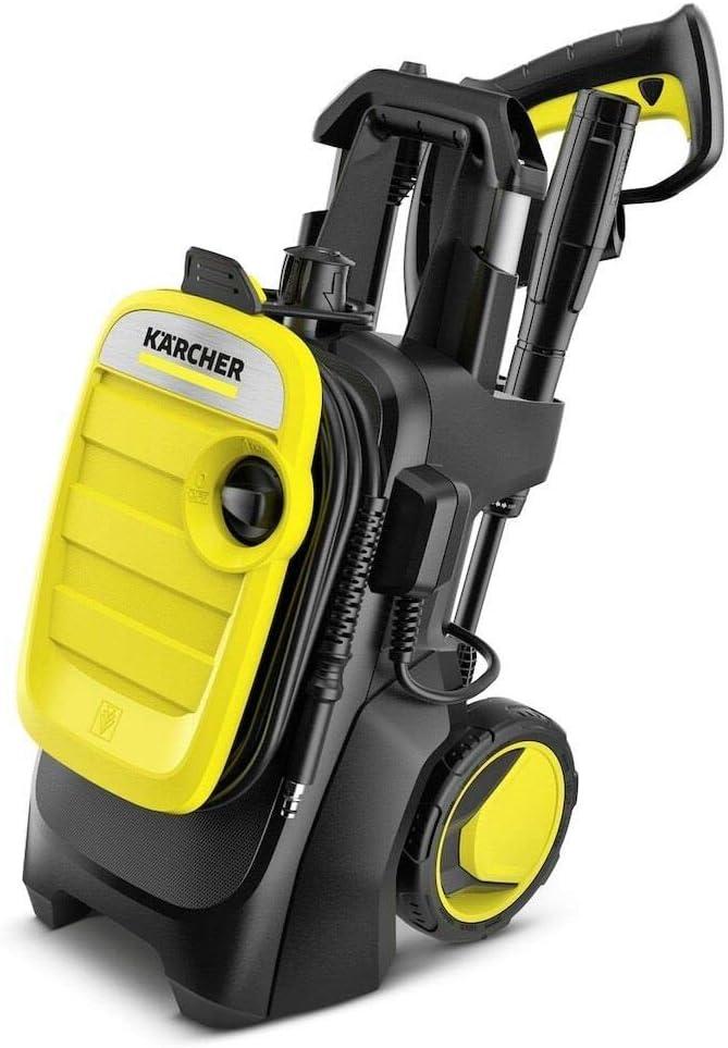 Kärcher K 5 hogedrukreiniger K5 Compact 1.630-750.0, 2100 W, 230 V, zwart, geel